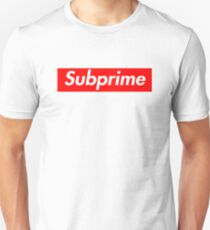 82135ed33fbe Supreme Subprime Tee Shirt Slim Fit T-Shirt