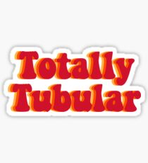 Stranger Things Totally Tubular  Sticker