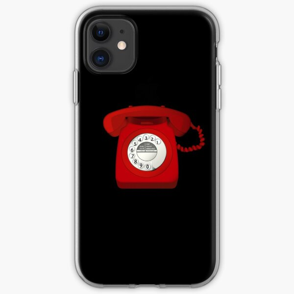 NDVH Telephone iPhone Soft Case