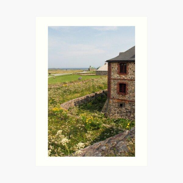 Fortress of Louisbourg 2 Art Print