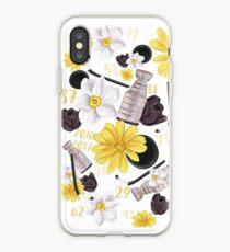 Blumen Pittsburgh Penguins Design iPhone-Hülle & Cover