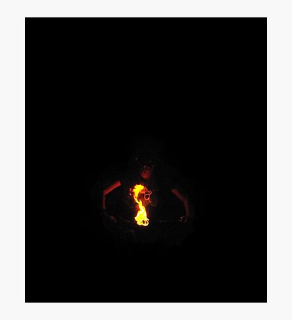Guardian Of The Flame - Fire Seer Photographic Print