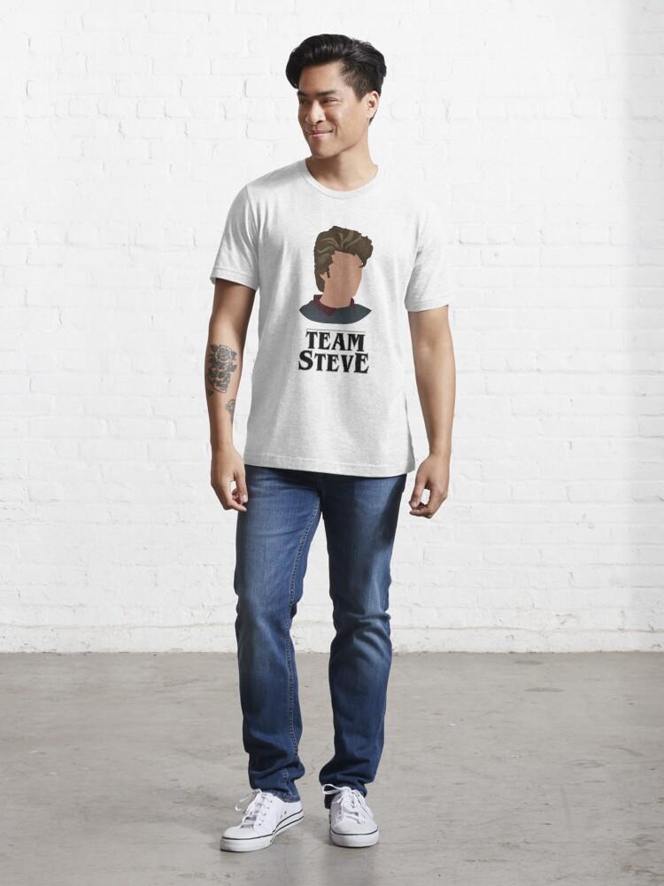 Alternate view of Team Steve Essential T-Shirt