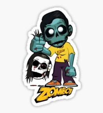 Zomboy with Skrillex Sticker