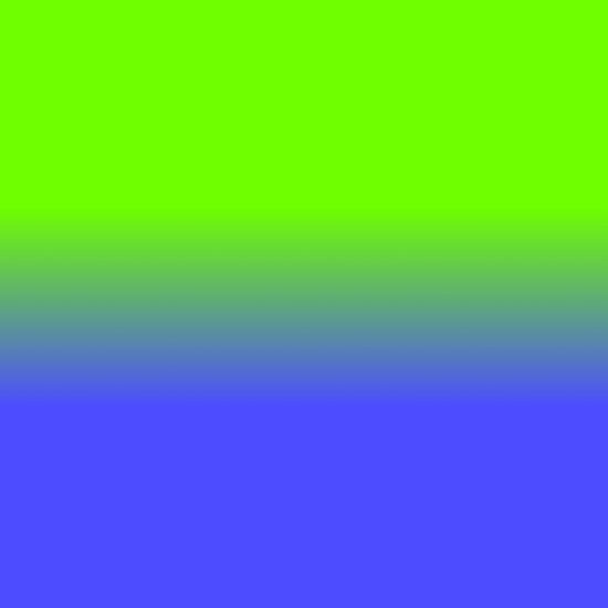 Neon Blue And Neon Green Ombré Shade Color Fade Posters By