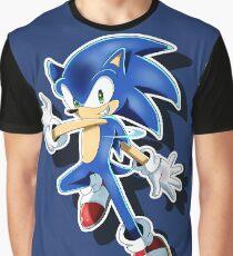 Blue Blur Graphic T-Shirt