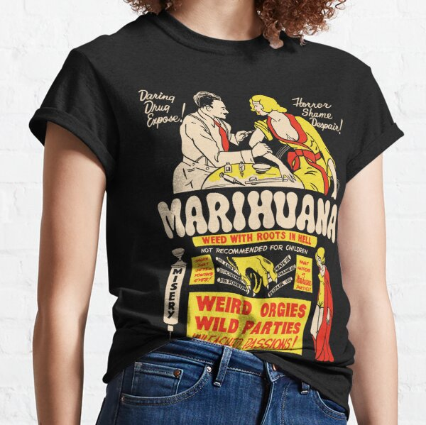 Weed With Roots In Hell Classic T-Shirt