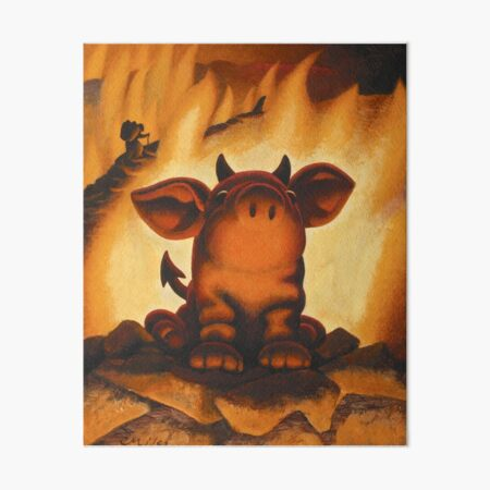 Lil' Devil Art Board Print