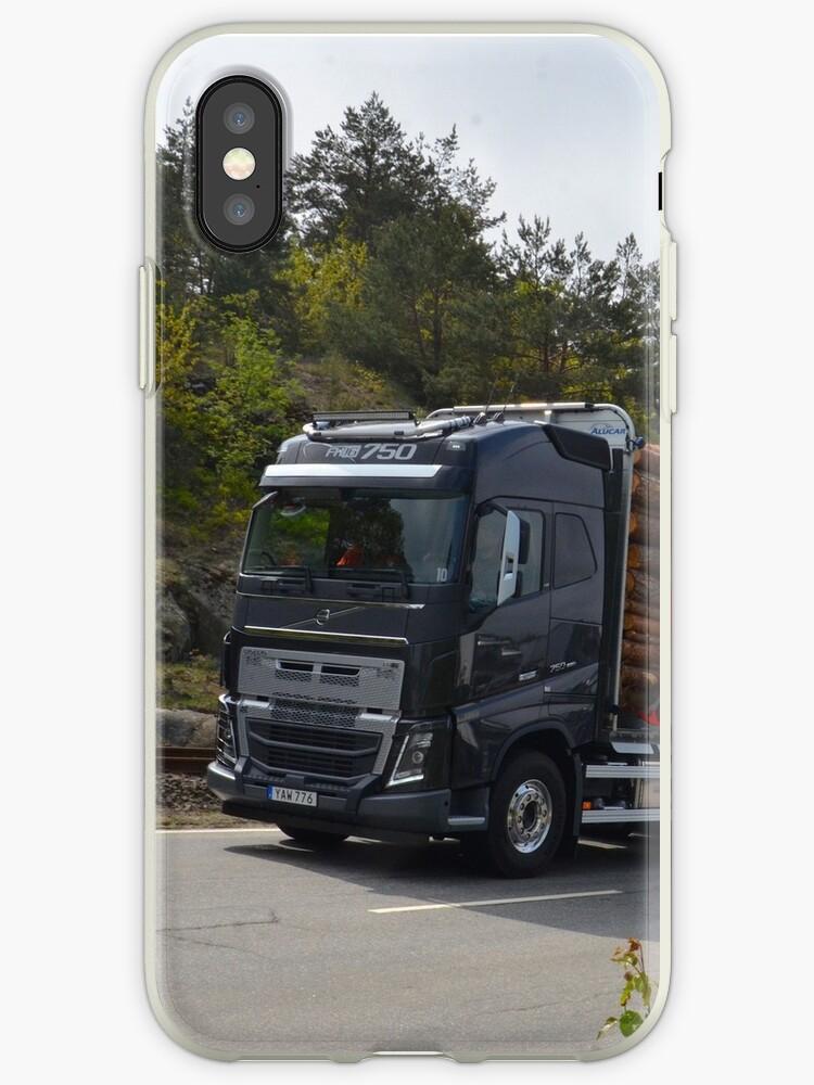 Construction Truck Volvo Fh16 750 Iphone Case By Valeriy Pisanov