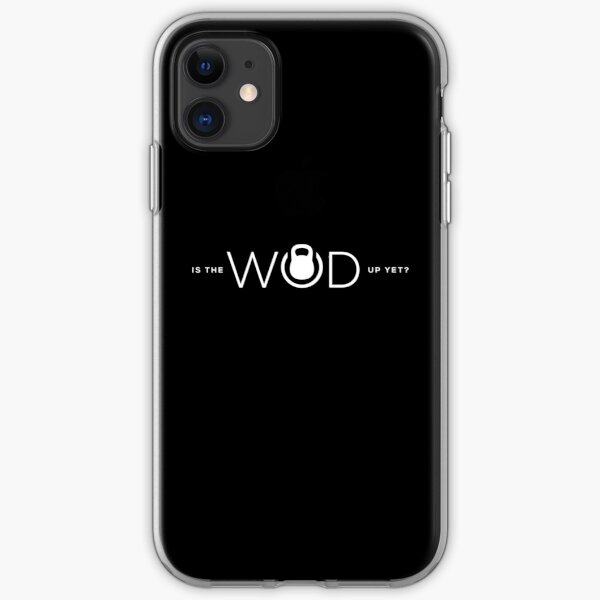 Is the WOD up yet? //REVERSE// iPhone Soft Case