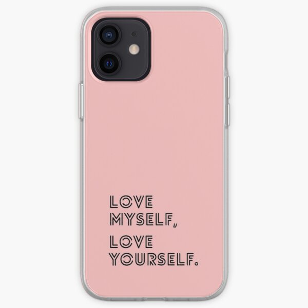 LOVE YOURSELF BTS iPhone Soft Case