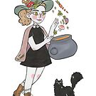 Chef Witch Illustration by MangoDoodles