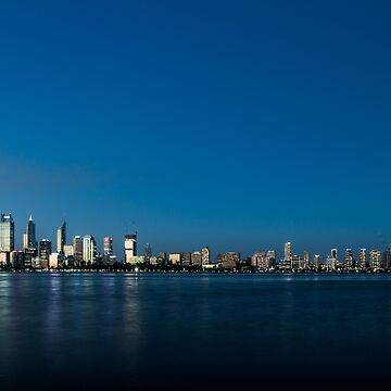 Perth City Blue Hour by nty6x