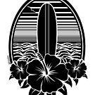 Surf Paradise T Shirt by Fangpunk