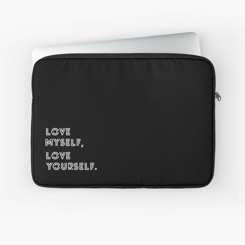 LIEBE SELBST BTS Laptoptasche