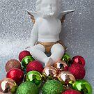 Christmas 2017 Traditional Christmas Angel by Jen Waltmon