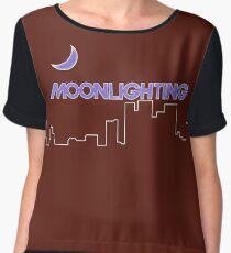 NDVH Moonlighting Chiffon Top
