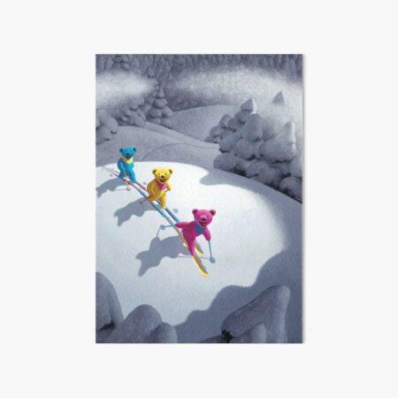Back Country Bears 5 x 7 Art Board Print