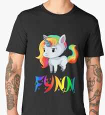 Fynn Unicorn Sticker Men's Premium T-Shirt