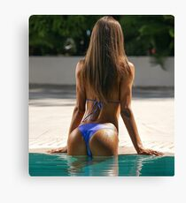 SWEET ASS Sticker #26 Canvas Print