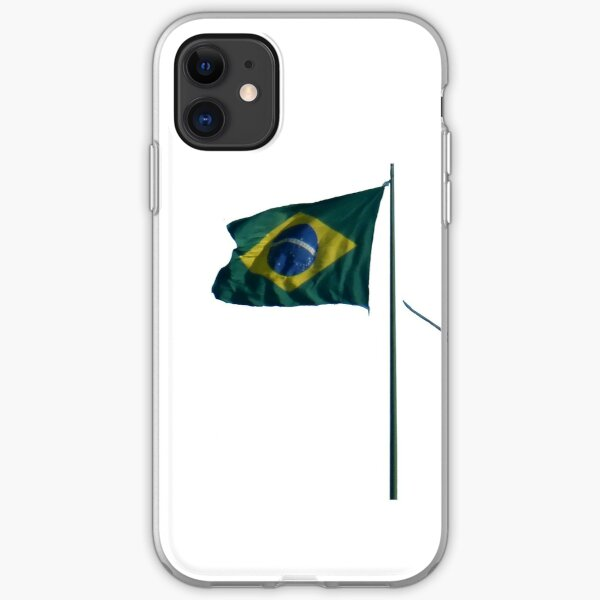 Winds of Brazil - white iPhone Soft Case