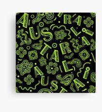 Symbols of Australia Canvas Print