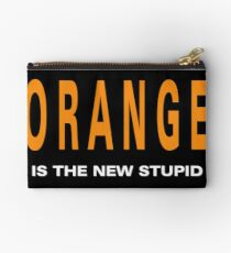 Oranger is the New Stupid Studio Pouch