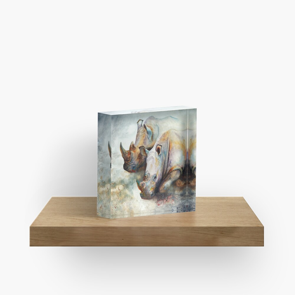 Thunderstruck Acrylic Block