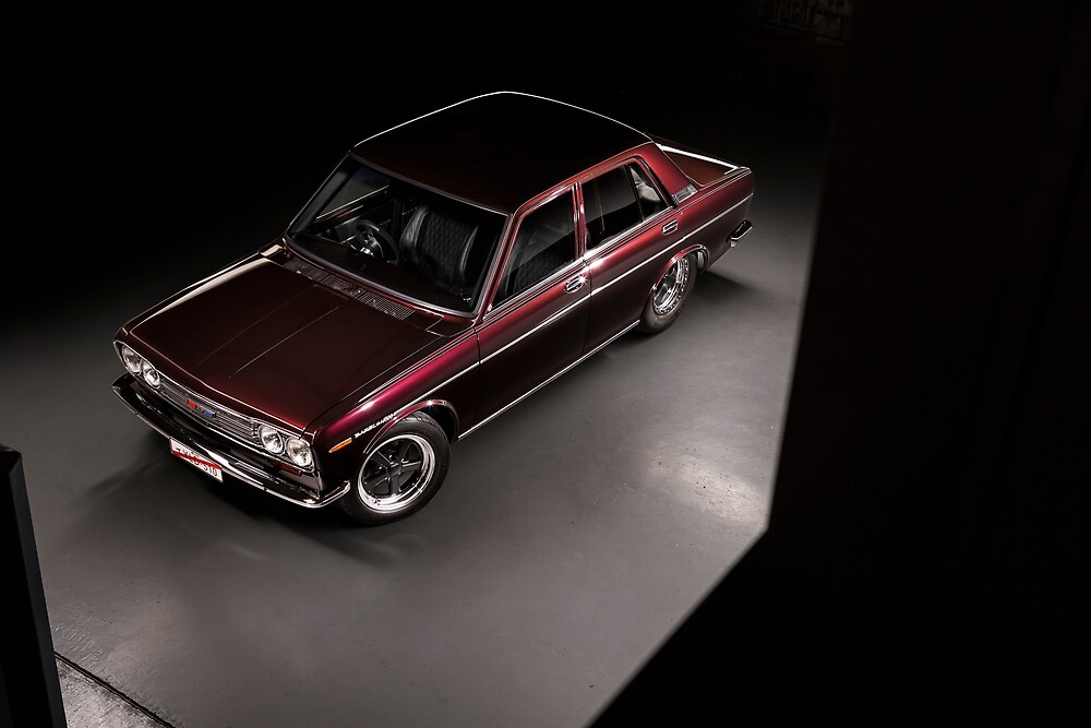 Aaron Fitzpatrick's Datsun 1600 by HoskingInd