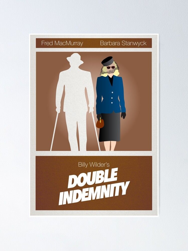 Alternate view of Double Indemnity Poster