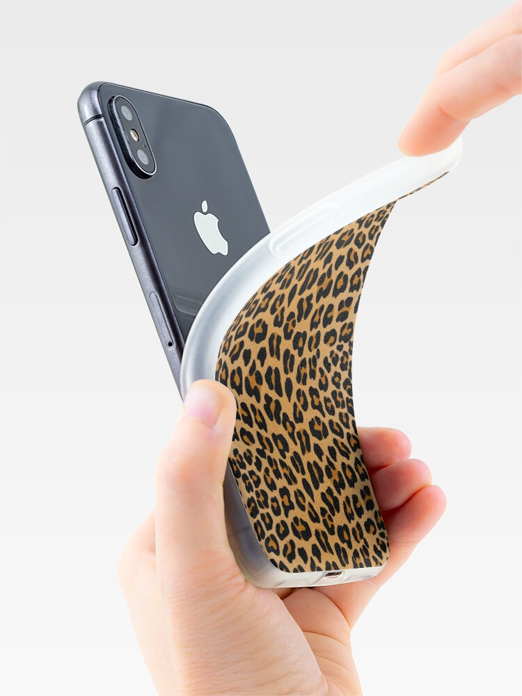 Alternate view of Leopard print iPhone Case & Cover