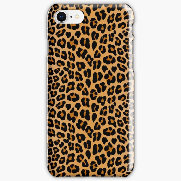 Leopard print iPhone Snap Case