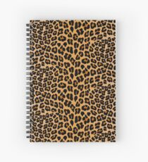 Cuaderno de espiral Estampado de leopardo