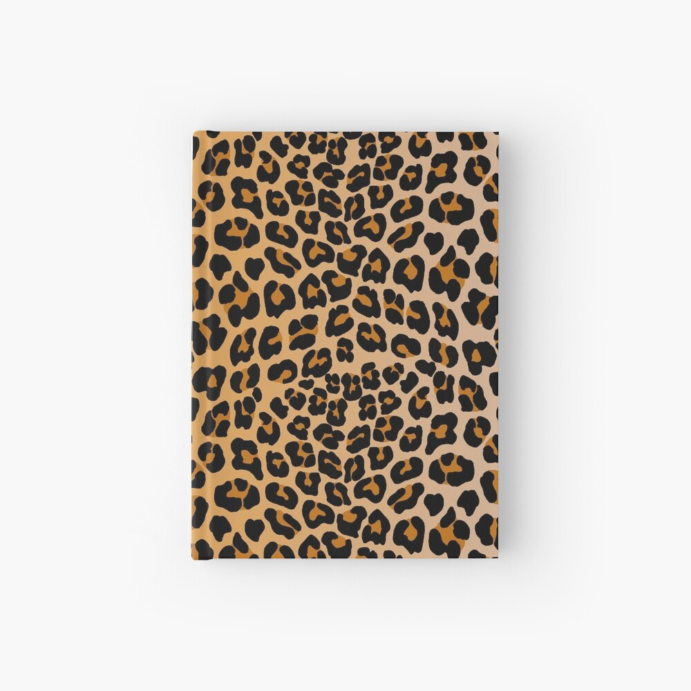 Leopard print Hardcover Journal