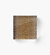 Leopard print Acrylic Block