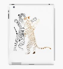 Playful tiger cubs version 2 iPad Case/Skin