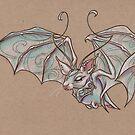 Fae Bat  by justteejay