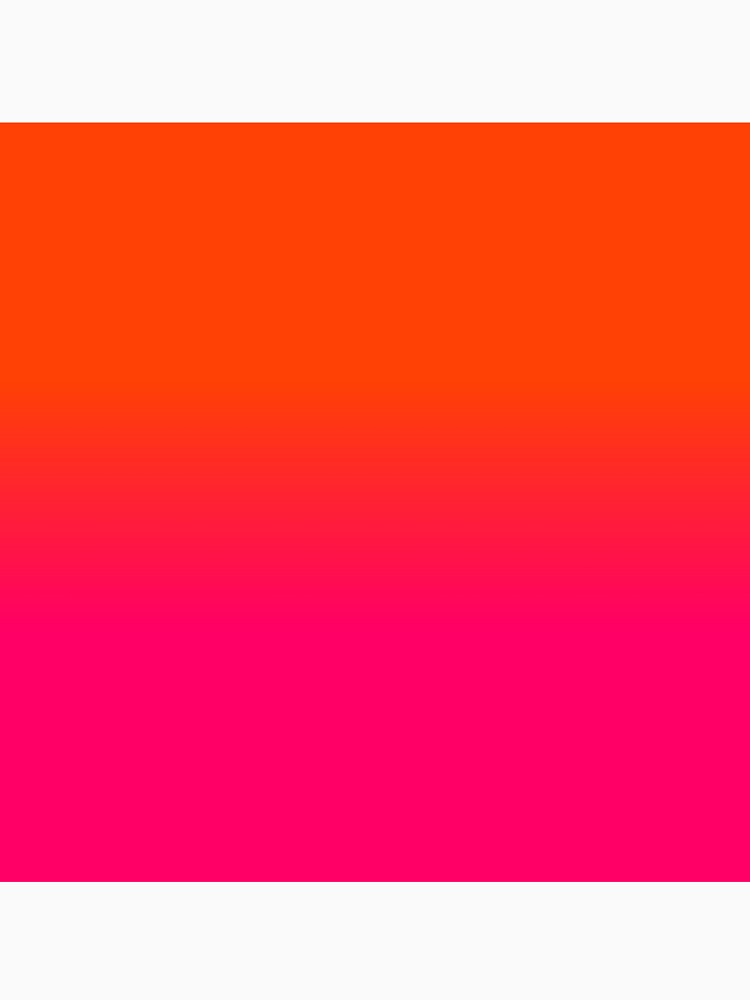 Neon Orange And Pink Ombre Shade Color Fade By Podartist