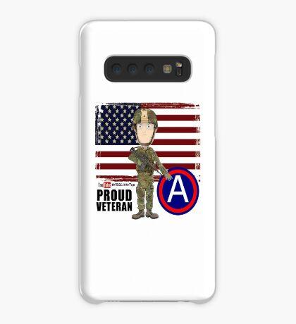 Proud Veteran 3rd Army Case/Skin for Samsung Galaxy