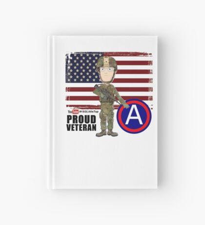 Proud Veteran 3rd Army Hardcover Journal