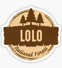 Lolo National Forest Sticker