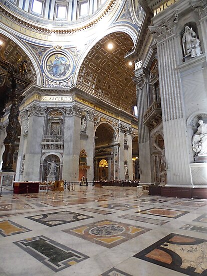 St. Peter's, Rome, Italy by shopismo