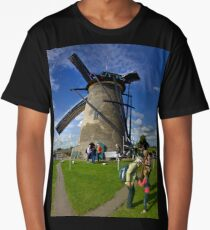 A Kinderdijk Windmill  Long T-Shirt