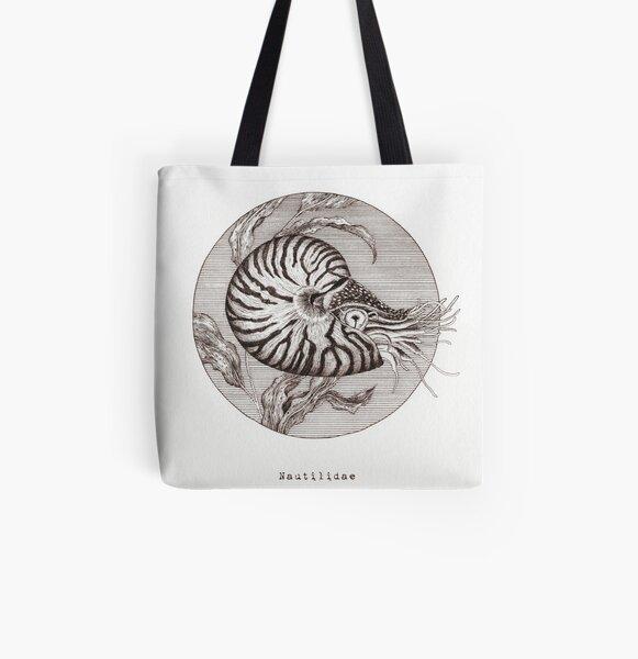 Nautilidae Allover-Print Tote Bag