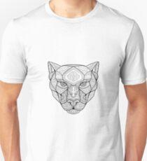 Schwarzer Panther Zentagle Unisex T-Shirt