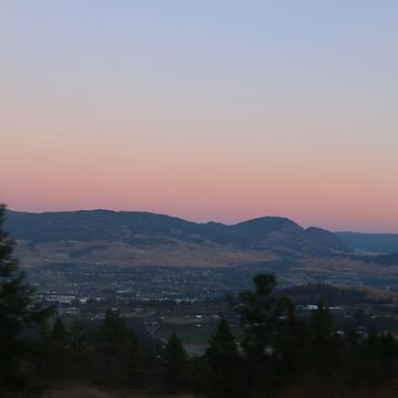 Kelowna Pink Sunset by jessannjo