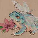 Fairy Toad  by justteejay