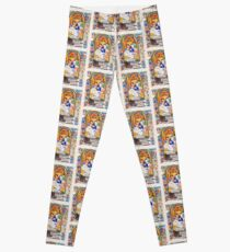Illuminated New Testaments Christ's Entombment Leggings