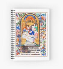 Illuminated New Testaments Christ's Entombment Spiral Notebook