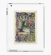 Illuminated New Testaments Christ's Crucifixion iPad Case/Skin
